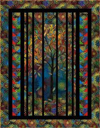 Light in the Forest Quilt - KIT
