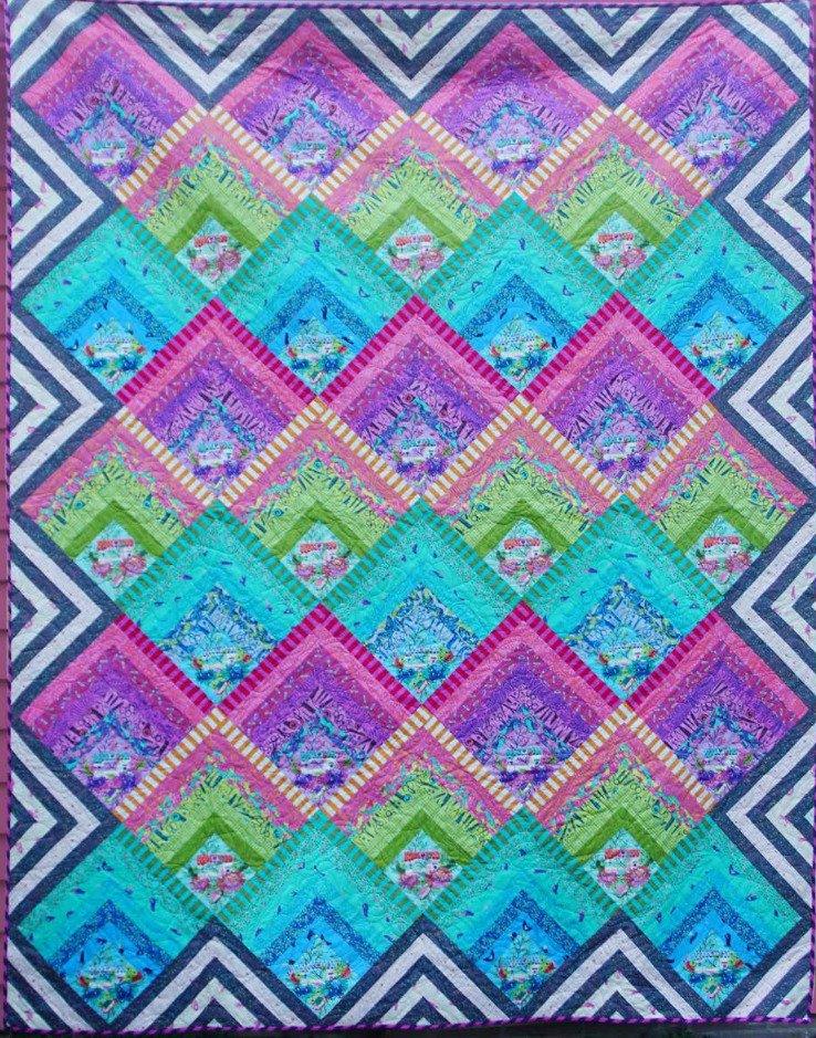Tula Pink -Electric Slide Quilt- Kit