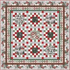 Holiday Wishes Quilt 2 Kit  (includes binding)
