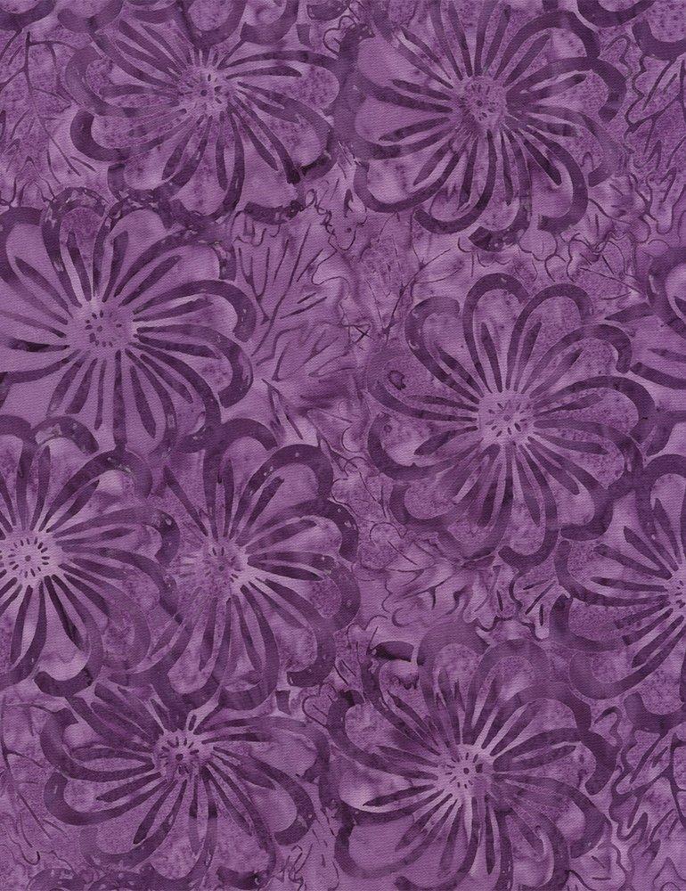 Timeless Treasures Tonga B4876 Purple