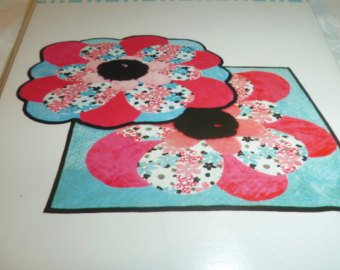Flower  Cuddle Rug Kit
