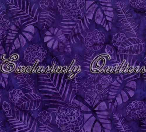 Exclusively Quilters Paradise Batiks WOOD4 021