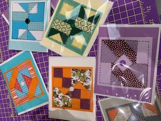 Quilt Block Greeting Cards