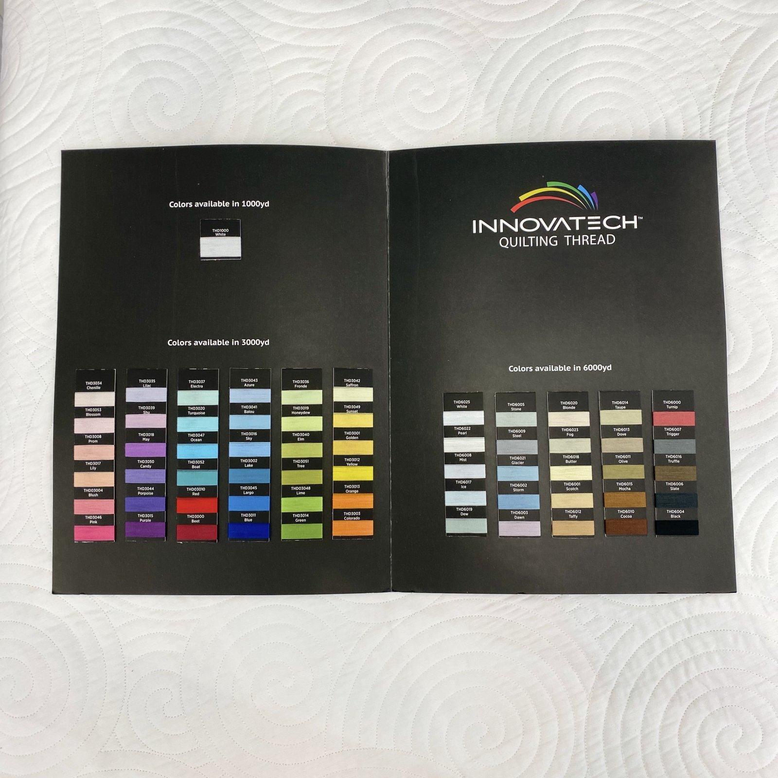Thread Color Card Innovatech