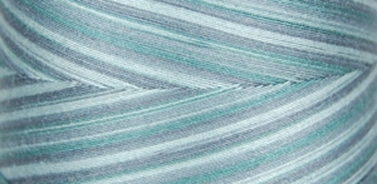 MN81 Variegated Cone Thread Smk Blue