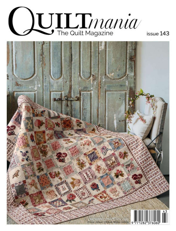 Quiltmania Magazine issue #143