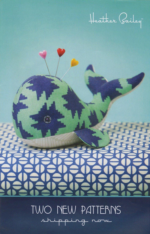 Seymour Spyhop Whale Pincushion