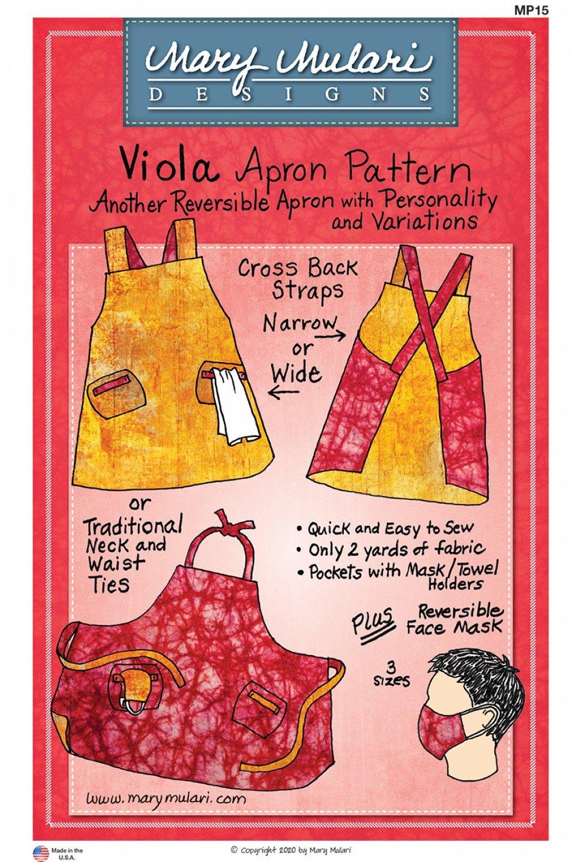 Viola Apron Pattern