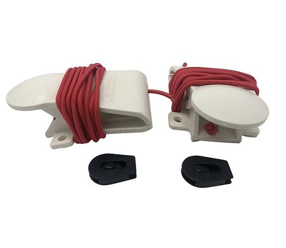 Innova Plastic Clamp w/ Cord & Cord Lock Set Set of 2
