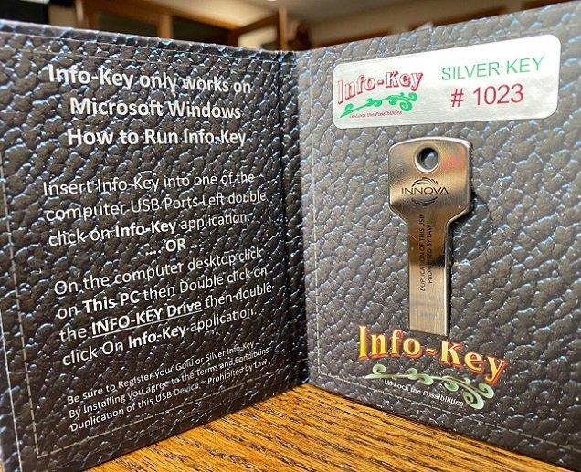 Silver Info-Key