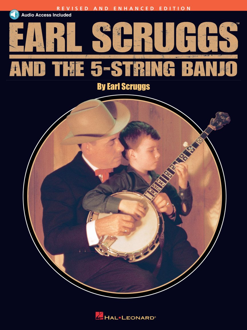Earl Scruggs & the 5 String Banjo Revised Bk & CD