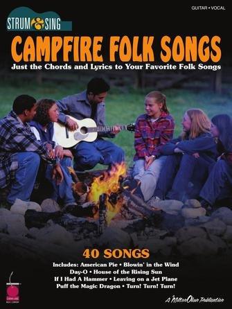 Campfire Folk Songs, Strum & Sing Guitar 5T2500686