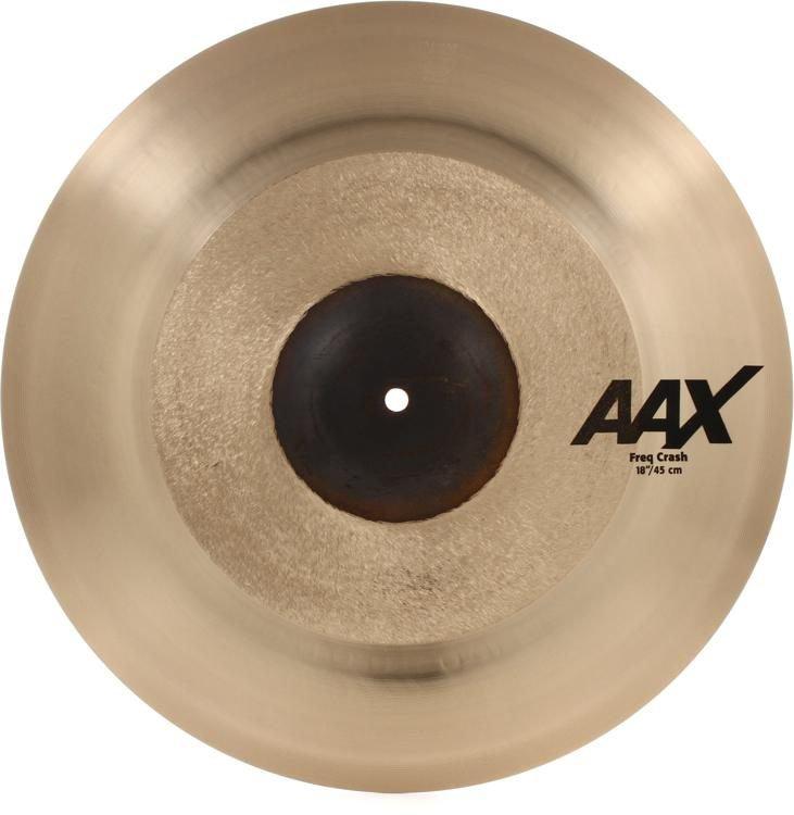 Sabian AAX 18 Frequency Crash Cymbal ZZP218X 218XFC