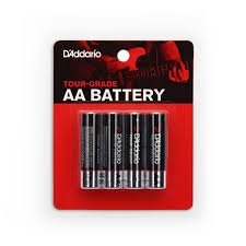 Battery - D'Addario AA 4-Pack PW-AA-04