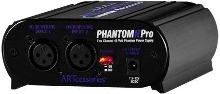 ART Pro Audio Phantom Power Supply PHANTOM2PRO