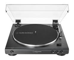 Audio-Technica Fully Automatic Belt-Drive Stereo Turntable, Black  ATLP60X-BK