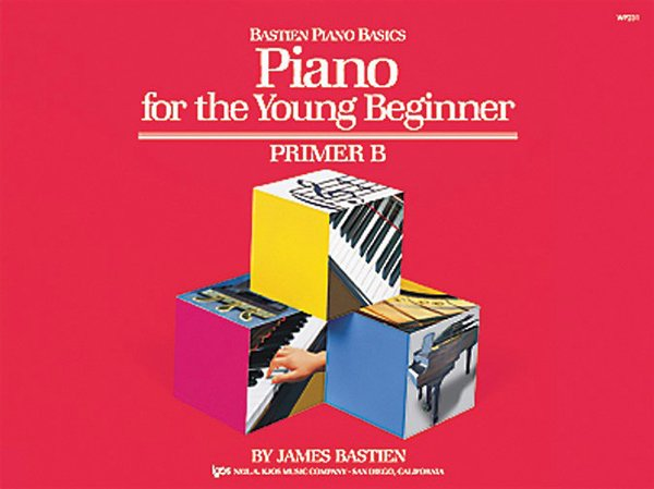 Bastien Piano Primer B for the Young Beginner