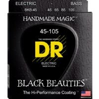 DR BKB-45 Black Beauties Bass Stringset