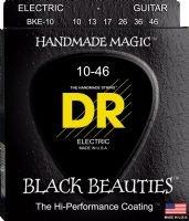 DR 2-BKE-10 Black Beauties Electric Stringset 10-46