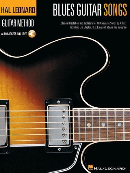 Hal Leonard Blues Guitar Songs TAB Bk & CD