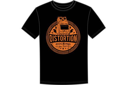 BOSS DS1 Distortion Pedal T-Shirt - Large CCB-DS1TLC