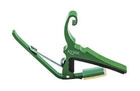 Capo - Kyser 6 String KG6EGA Emerald Green
