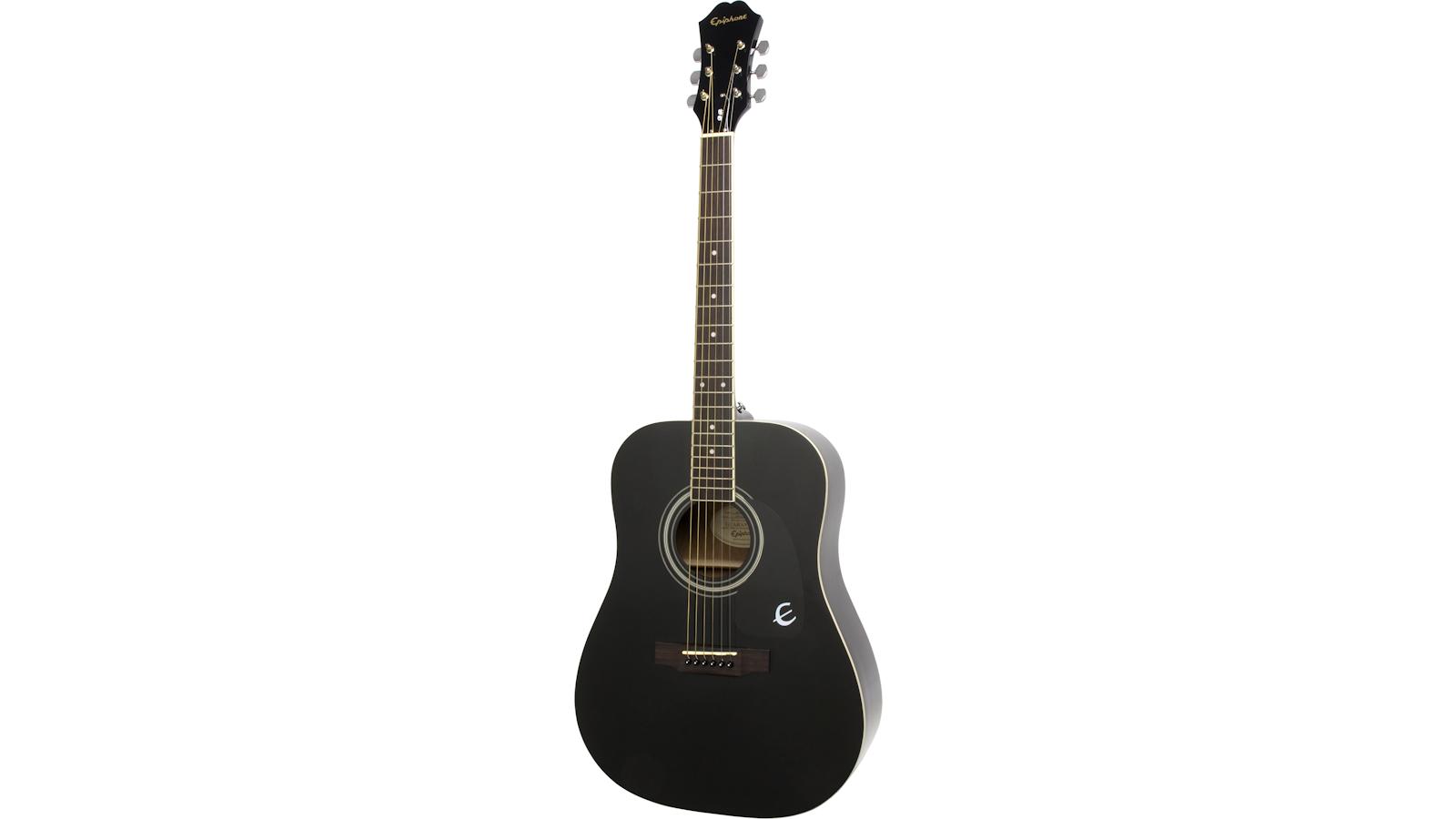 Epiphone DR100 Black Acoustic Guitar