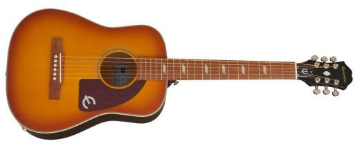Epiphone Lil Tex Travel Acoustic w Pickup Faded Cherry