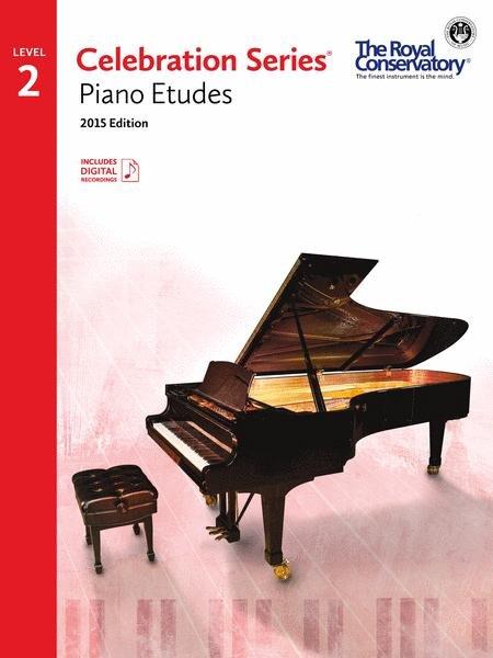 RCM Celebration Series Piano Etudes Gr 2