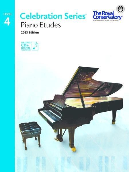 RCM Celebration Series Piano Etudes Gr 4