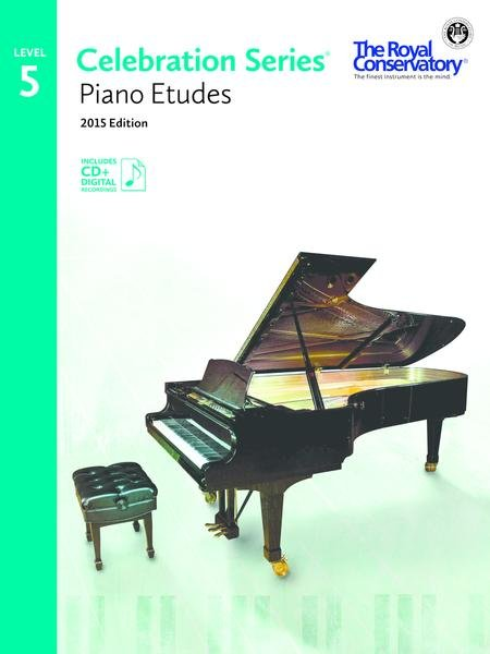 RCM Celebration Series Piano Etudes Gr 5