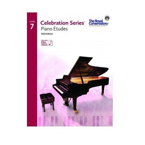 RCM Celebration Series Piano Etudes Gr 7