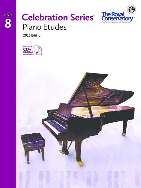 RCM Celebration Series Piano Etudes Gr 8