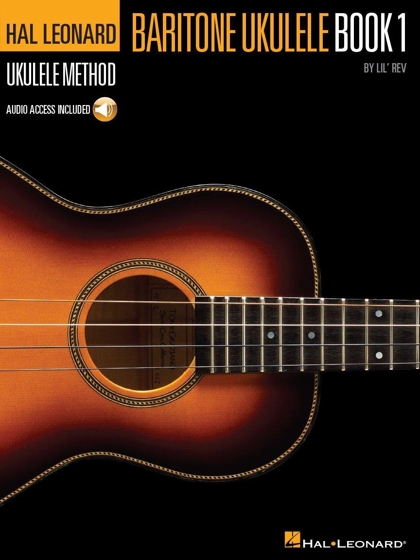 Hal Leonard Baritone Ukulele Method Bk1 & Audio Online 5T696564