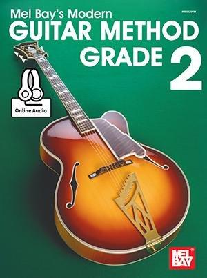 Mel Bay Modern Guitar Method 2 Book & Online Audio & Video 4N93200