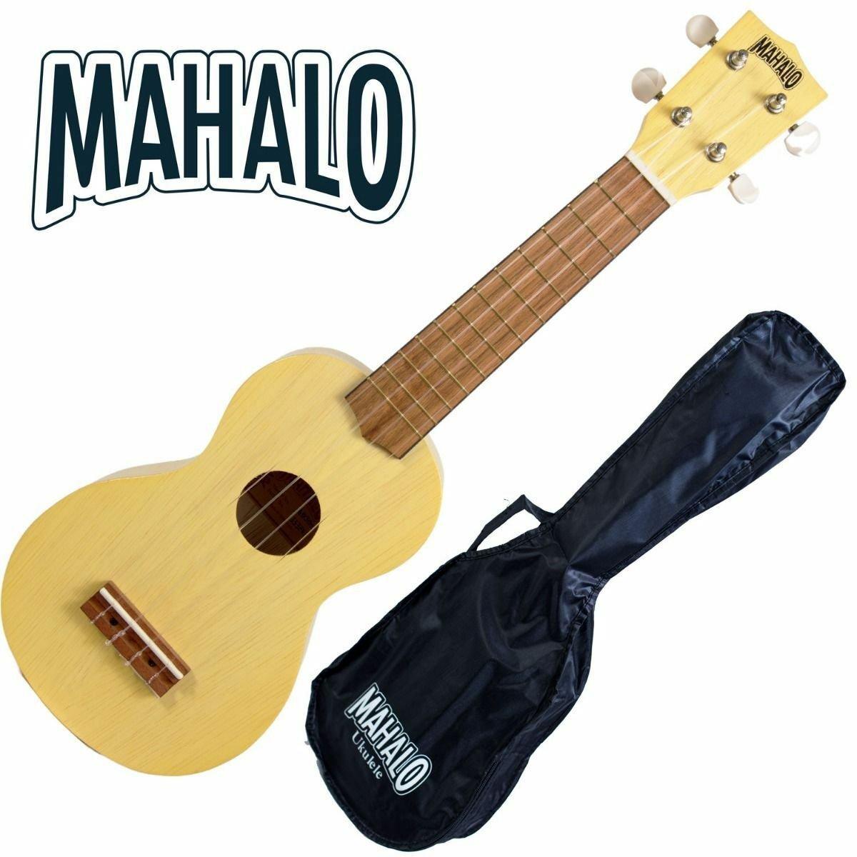 Mahalo MK1 Transparent Butterscoth Soprano Ukulele