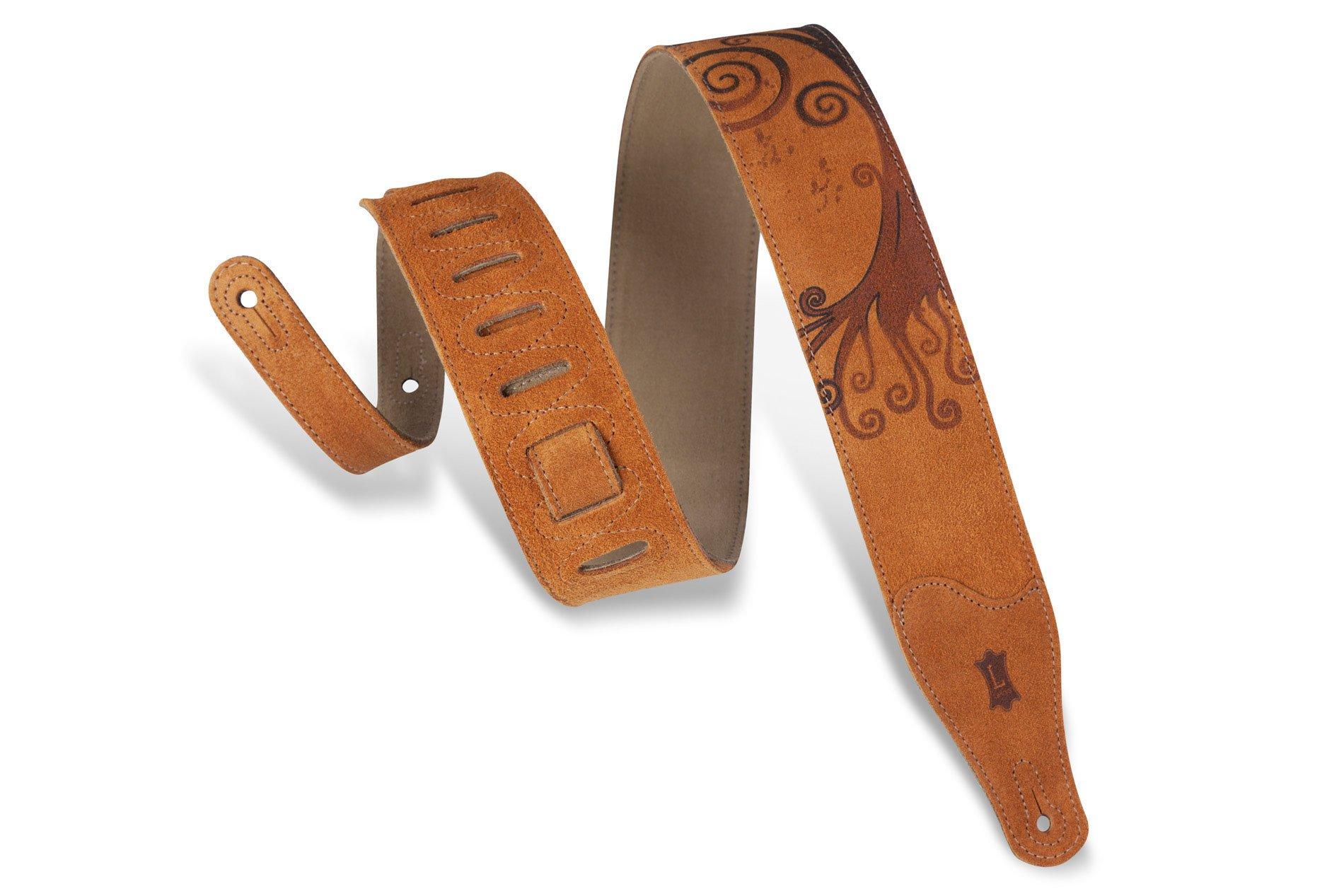 Strap - Levy's MS26COP-006 Suede Design 2 1/2