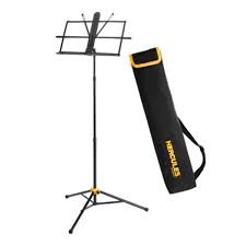Hercules BS118BB Music Stand 3-Section w Bag