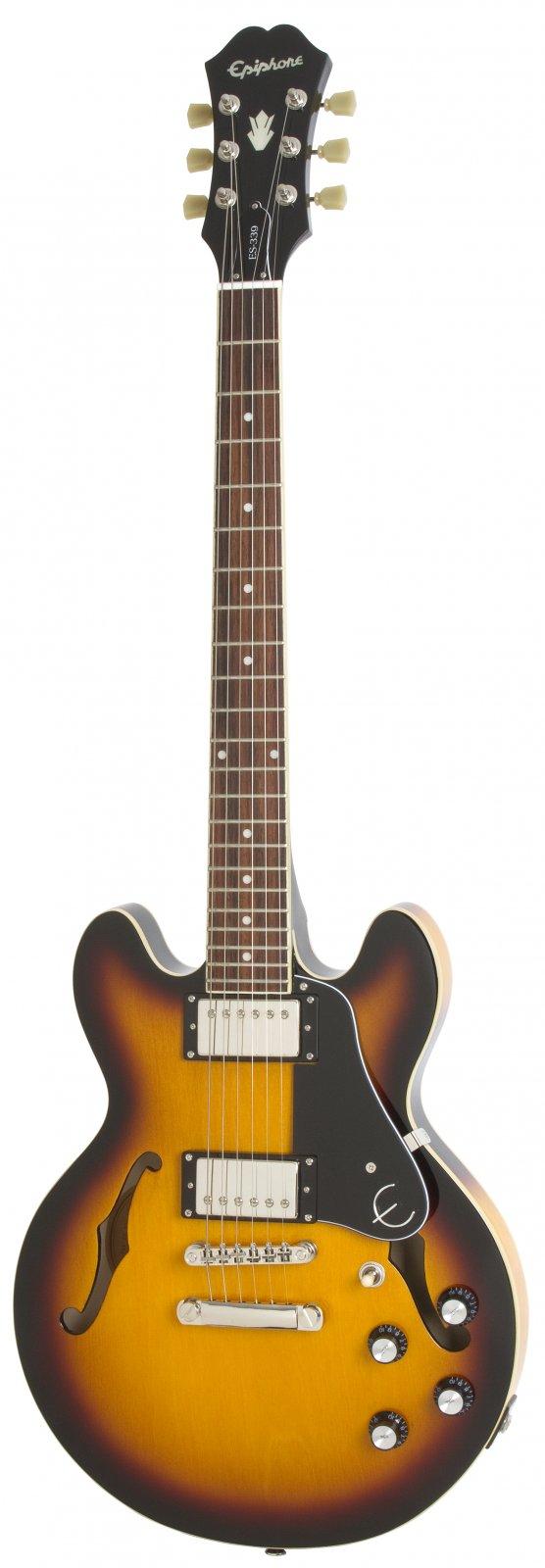 Epiphone ES-339 Pro Vintage Sunburst Electric Guitar ET39NANH