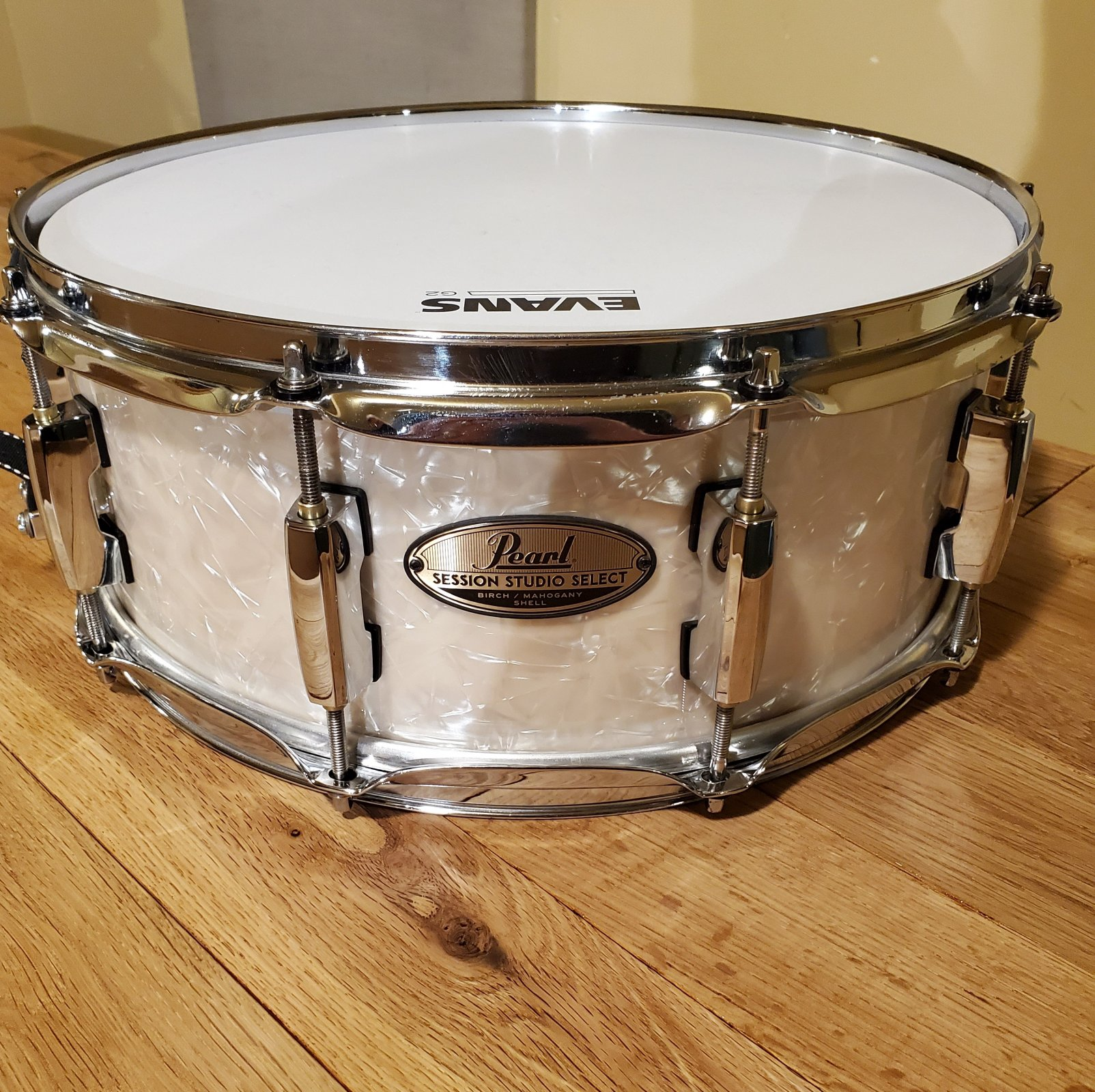 used Pearl Session Studio Select Snare 14 x 5.5