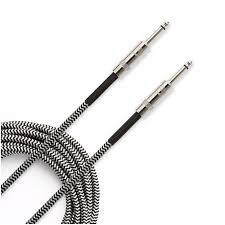 Cable - PW CS Braided 20' Black/Grey PW-BG-20BG