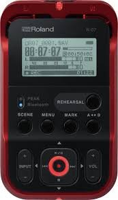 Roland R-07 High Res Audio Recorder w Bluetooth