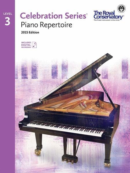 RCM Celebration Series Piano Repertoire Gr 3