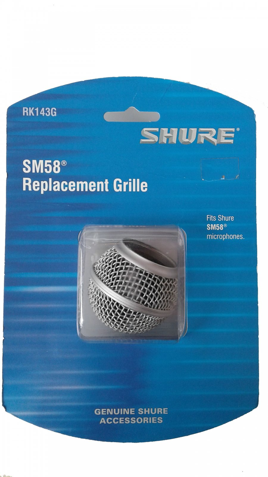 Shure Microphone Grille Assembly for SM58 RK143G