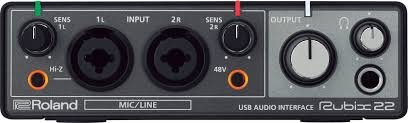 Roland Rubix 22 USB Audio Interace