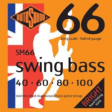 Rotosound SM66 Hybrid Stainless Bass Stringset