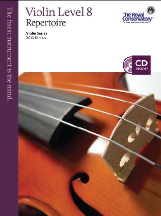 RCM Violin Repertoire Grade 8