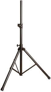 Yorkville SKS-11B Speaker Stand, Aluminum Black