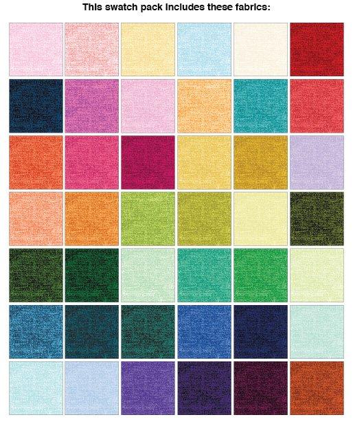 Color Weave 10 x10 42pc