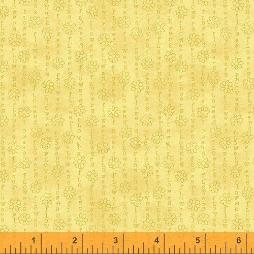 Flower Stripe Yellow